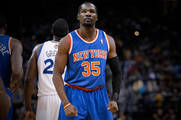 Image result for images of kevin durant as a knick